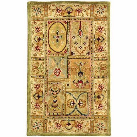 "Safavieh Handmade Classic Empire Wool Panel Runner (2'3 x 4') - 2'3"" x 4'"