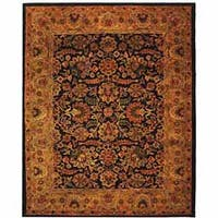 Safavieh Handmade Classic Heirloom Navy/ Red Wool Rug - 2' x 3'