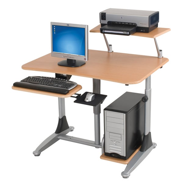 Balt Pneumatic Ergonomic Workstation Desk