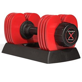 Stamina X 50-pound Versa-Bell Dumbbell