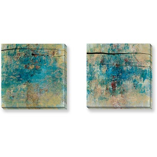 Gallery Direct Bellows 'By Chance Series' 2-piece Canvas Art Set