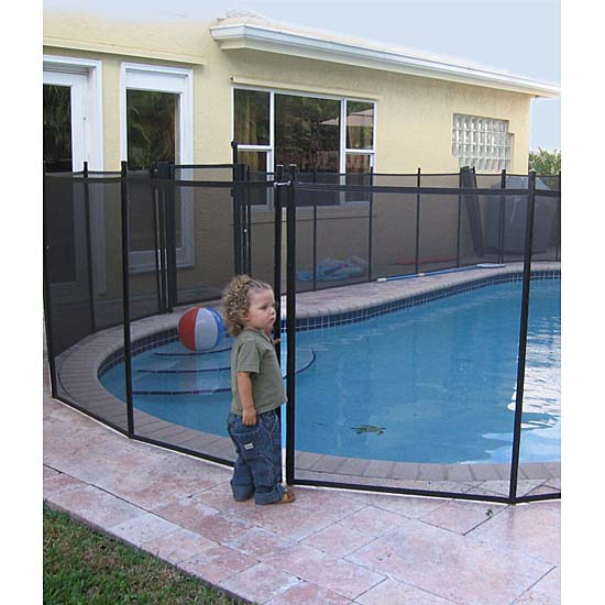 Shop Water Warden Pool Safety Fence 5 Ft X 12 Ft