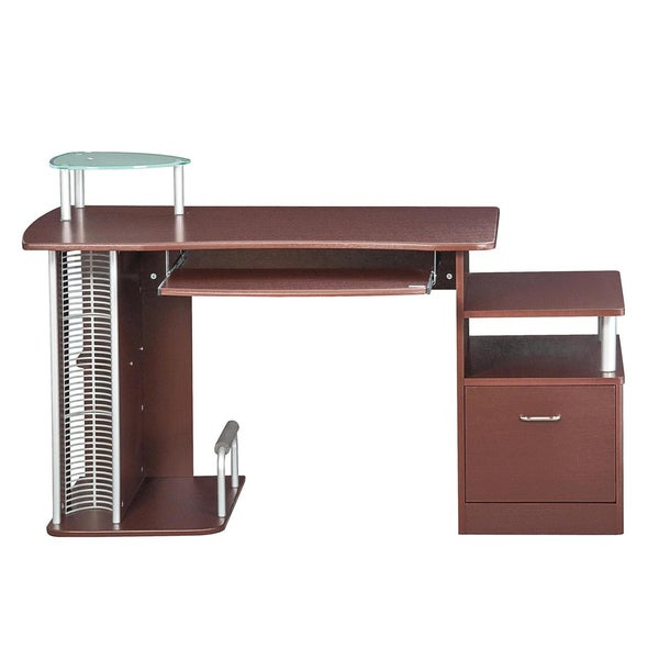 deluxe ergonomic computer desk free shipping today