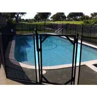 Water Warden Self Closing Pool Safety Gate (Option: Water Warden)
