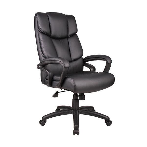 Boss Italian Top Grain Leather Executive Chair On Sale Overstock 3187873
