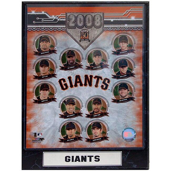 San Francisco Giants '08 Collectible Photo Plaque