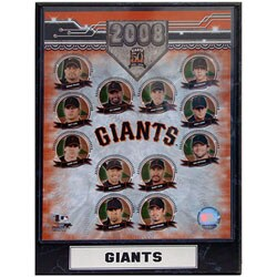 San Francisco Giants '08 Collectible Photo Plaque