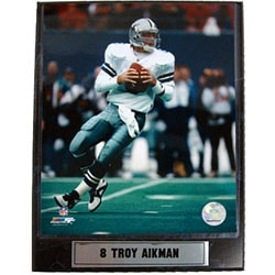 Troy Aikman 9x12 Photo Plaque