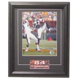 T.J. Houshmandzadeh 11x14 Deluxe Sports Plaque