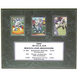 Dallas Cowboys' Ring of Honor 9x12 Card Plaque