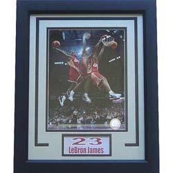 LeBron James 11x14 Deluxe Sports Plaque - Thumbnail 0