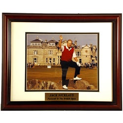 Jack Nicklaus 11x14 Deluxe Sports Plaque