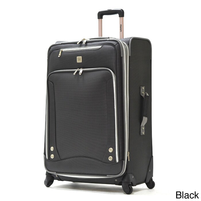 Olympia Skyhawk 30-inch Expandable Spinner Upright Suitca...