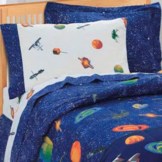 Dream Factory Galaxy Space 6-piece Bed in a Bag with Sheet Set|https://ak1.ostkcdn.com/images/products/3191200/Galaxy-6-piece-Space-Cotton-Polyester-Bed-in-a-Bag-with-Sheet-Set-P11308646.jpg?impolicy=medium