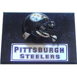 Pittsburgh Steelers 9x12 Helmet Plaque