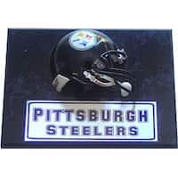 Pittsburgh Steelers 9x12 Helmet Plaque