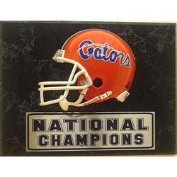 Florida Gators 9x12 Helmet Plaque - Thumbnail 0