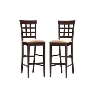 Coaster Company Window-back Barstools (Set of 2)