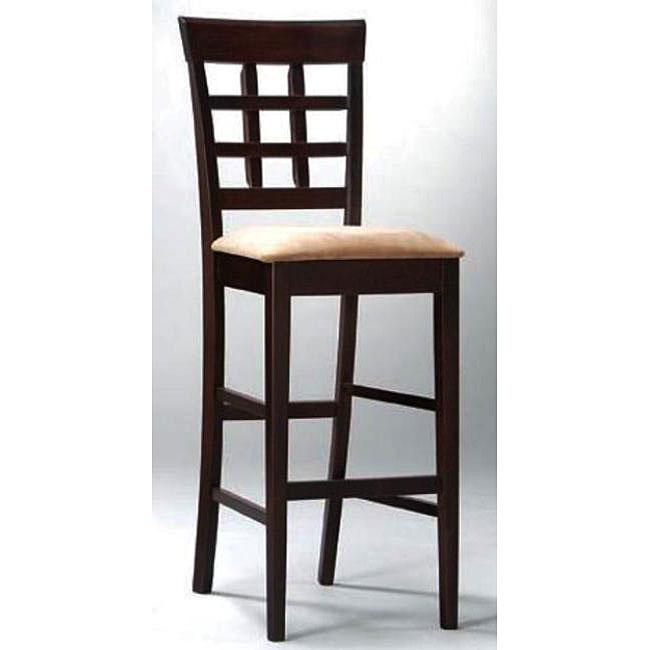 Window-back Barstools (Set of 2)