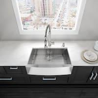 "VIGO 30"" Camden Stainless Steel Farmhouse Kitchen Sink"