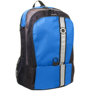 DadGear Backpack Diaper Bag, Retro Stripe Blue