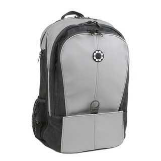 DadGear Backpack Diaper Bag, Professional Grey