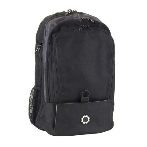 DadGear Backpack Diaper Bag, Basic Black