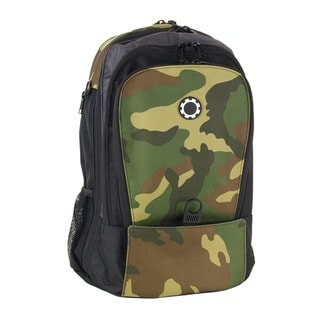 DadGear Backpack Diaper Bag, Basic Camouflage