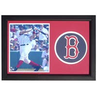 Boston Red Sox Jason Varitek 12x18 Framed Print