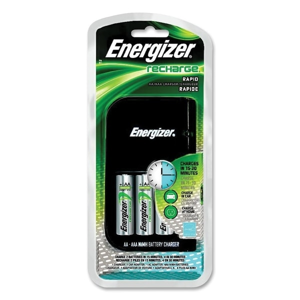 Energizer NiMH Rechargeable Battery Charger