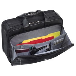 Thumbnail 2, Solo Smart Strap 15.4-inch Laptop Portfolio Briefcase. Changes active main hero.