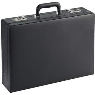 SOLO Classic Expandable Attache Briefcase|https://ak1.ostkcdn.com/images/products/3203100/P11322229.jpg?impolicy=medium