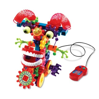 Learning Resources Gears! Gears! Gears! Wacky Wigglers Motorized Building Set