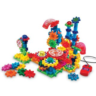 Learning Resources Gears! Gears! Gears! Lights & Action Motorized Building Set