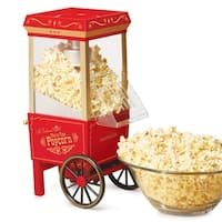 Nostalgia OFP501 12-Cup Hot Air Popcorn Maker
