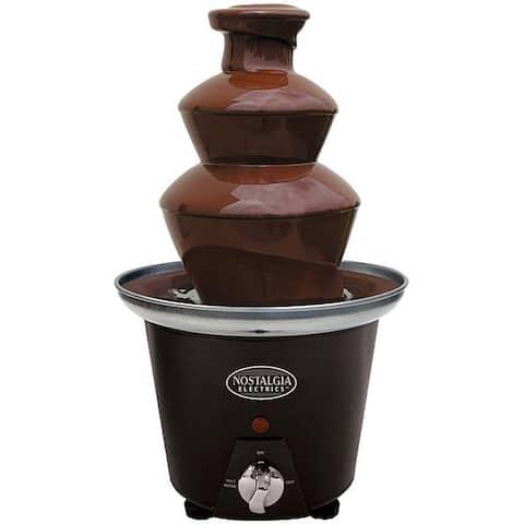 Nostalgia CFF965 3-Tier 1.5-Pound Chocolate Fondue Fountain