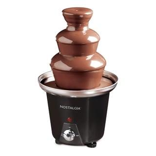 Nostalgia CFF965 3-Tier 1.5-Pound Chocolate Fondue Fountain - Thumbnail 0