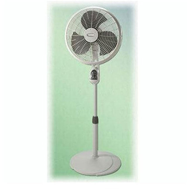 Big Stand Up Oscillating Fan : Lasko inch pedestal fan with remote control free