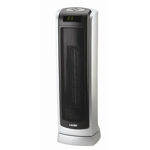 Lasko 5521 Ceramic Tower Heater with Digital Display