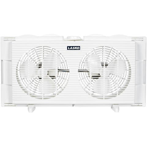 Lasko 2137 7-inch 2-speed Twin Window Fan