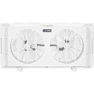 Lasko 2137 7-inch 2-speed Twin Window Fan