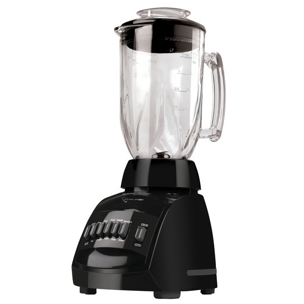 Black & Decker BLC12650HB Black 48-ounce Jar Cyclone 12-speed Blender