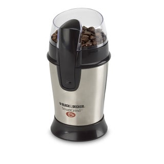 Black & Decker CBG100S Stainless Steel Coffee Bean Grinder
