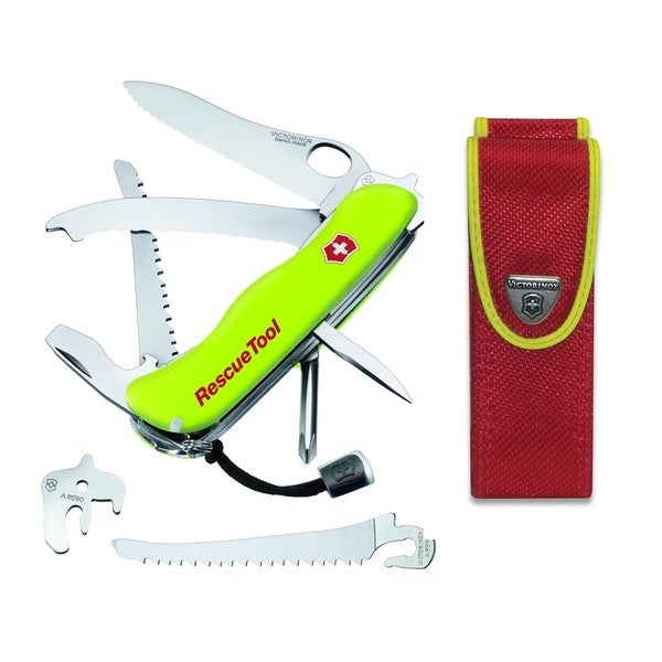 Swiss Army Victorinox Yellow Rescue Tool