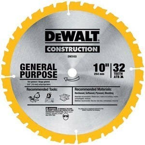 DeWalt Series 20 60 Teeths Fine Finish Saw Blade