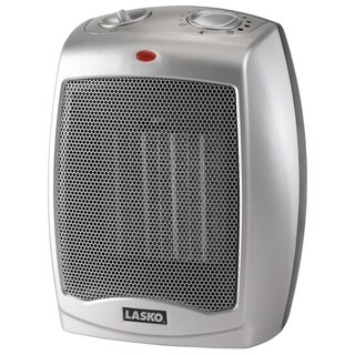 Lasko Electric Ceramic Heater Thermostat Gray