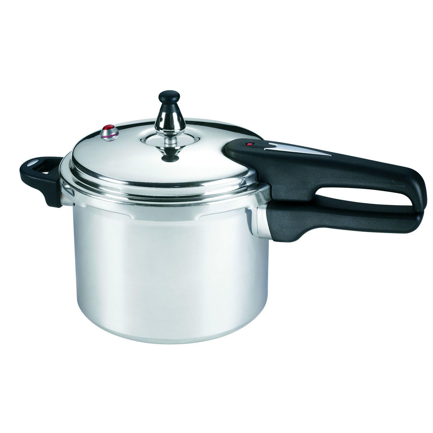 Mirro 4-quart Pressure Cooker (4qt Pressure Cooker), Silv...