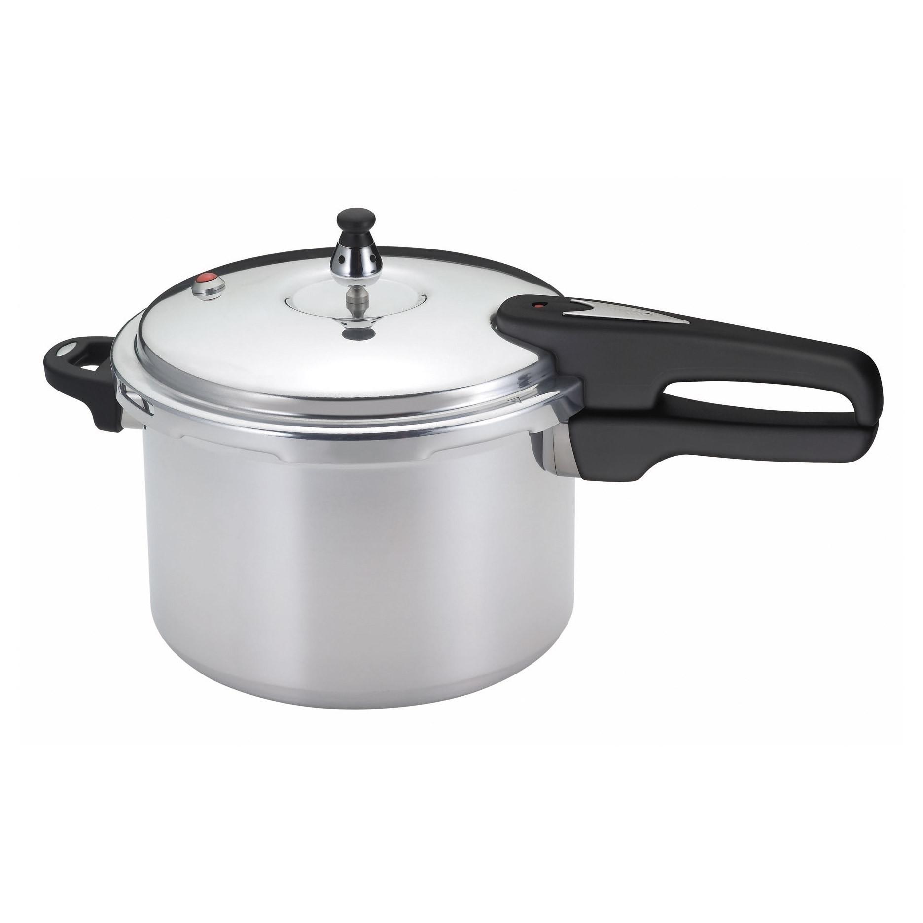 Mirro 6-quart Pressure Cooker (6qt Pressure Cooker), Silv...