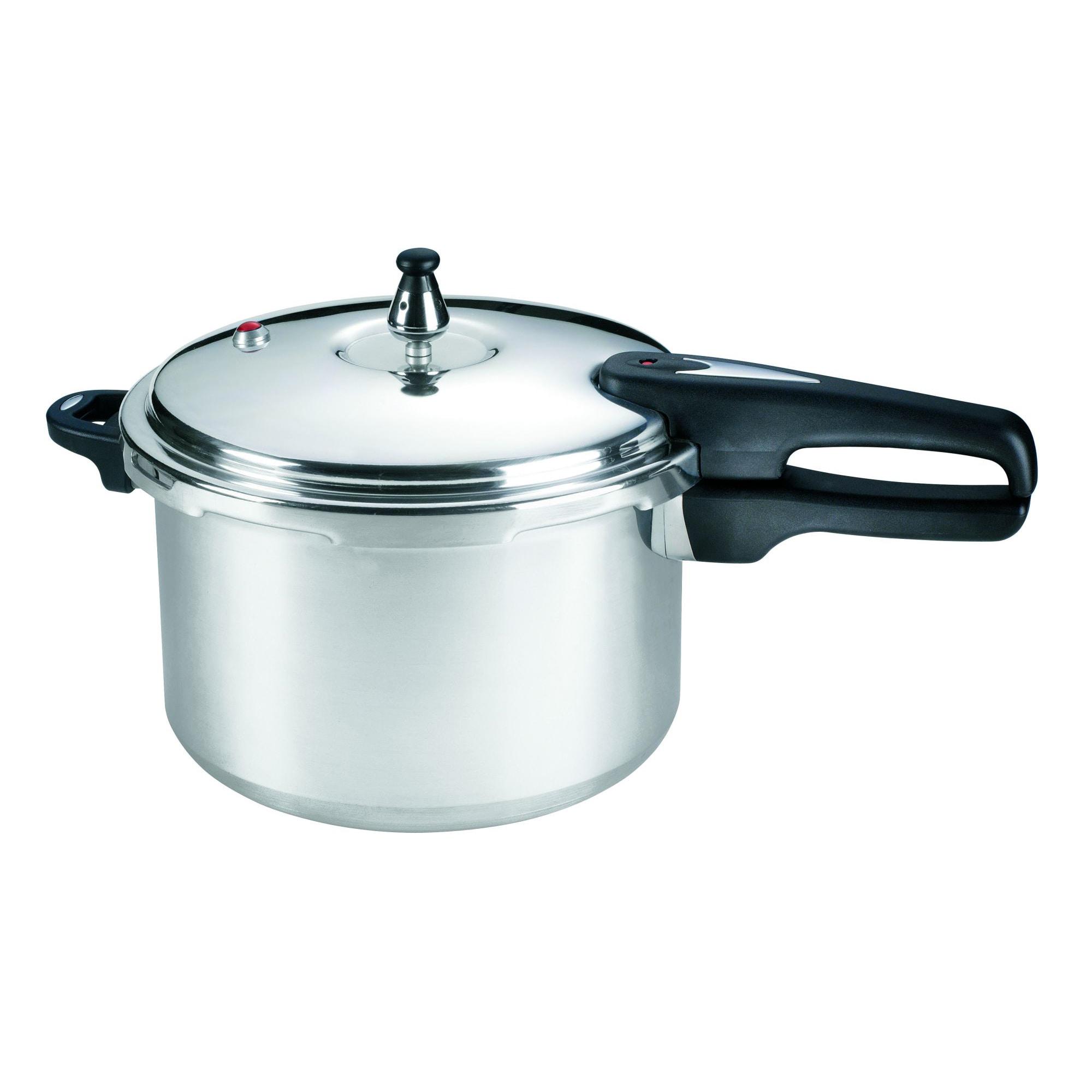 Mirro 92180A Pressure Cooker (8qt Pressure Cooker), Silve...