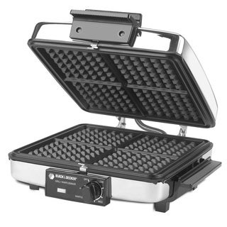 Black & Decker G48TD 3-in-1 Griddle and Waffle Maker